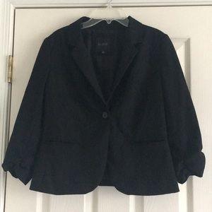 The LIMITED BLACK 3/4 length Blazer